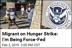ICE Detainee on Hunger Strike: I'm Being Force-Fed