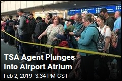 TSA Agent Plunges to His Death in Airport