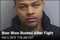 Bow Wow Busted After Fight
