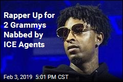 Rapper Up for 2 Grammys Nabbed by ICE Agents