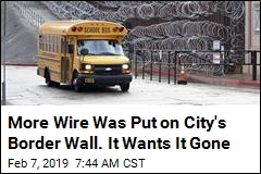 City Demands 'Inhuman' Wire on Border Wall Be Removed