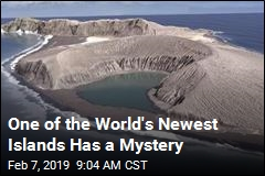 One of the World's Newest Islands Has a Mystery