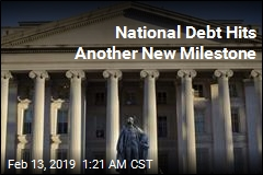 National Debt Hits Another New Milestone