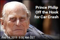 Prince Philip Off the Hook for Car Crash