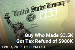 Tampa Man's Inaccurate W-2 Got Him a $980K Tax Refund