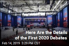 Details of First 2020 Debates Are Out
