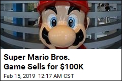 Super Mario Bros. Game Sells for $100K