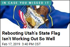 Utah Lawmakers Reject 'Corporate' New State Flag