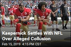 Kaepernick Settles With NFL Over Alleged Collusion