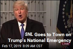 SNL Goes to Town on Trump's National Emergency