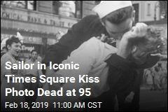 Sailor in Iconic Times Square Kiss Photo Dead at 95