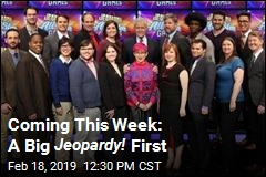Top Champs Return for Jeopardy! 's First Team Contest
