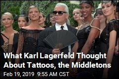 What Karl Lagerfeld Thought About Tattoos, the Middletons
