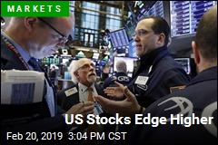 US Stocks Edge Higher