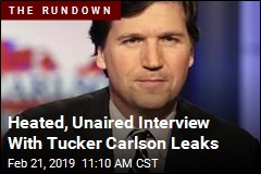 A Tucker Carlson Interview Quickly Goes Off the Rails