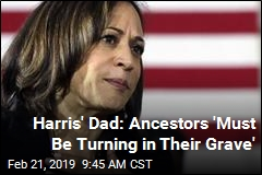 Harris' Pot-Smoking Joke Not Sitting Well With Dad