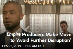 Smollet Axed From Rest of Empire Season