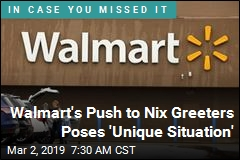 Walmart's Push to Nix Greeters Poses 'Unique Situation'