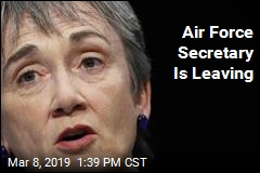 Air Force Secretary Is Leaving