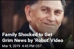 Family Shocked to Get Grim News by Robot Video