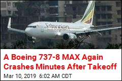 Ethiopian Airlines Plane Crashes 6 Minutes Into Flight