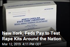 New York, Feds Pay to Test Rape Kits Around the Nation