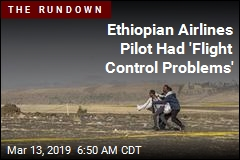 Ethiopian Airlines Pilot Had 'Flight Control Problems'
