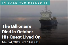 The Billionaire Died in October. His Quest Lived On