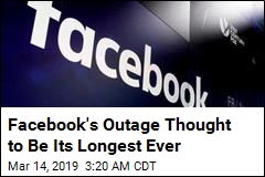 Facebook Suffers Worst Outage Ever
