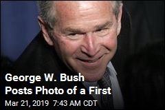George W. Bush Achieves a Personal First