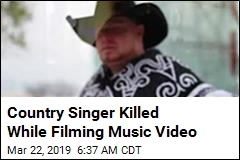 Rising Country Star Killed While Filming Video