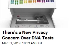 There's a New Privacy Concern Over DNA Tests