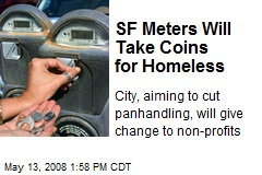 SF Meters Will Take Coins for Homeless