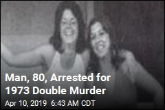 Man, 80, Arrested for 1973 Double Murder