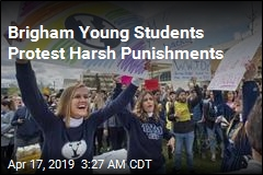Brigham Young Students Protest Harsh Punishments