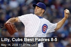 Lilly, Cubs Best Padres 8-5