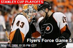 Flyers Force Game 5