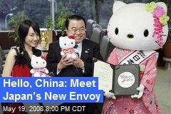 Hello, China: Meet Japan's New Envoy