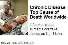 Chronic Disease Top Cause of Death Worldwide