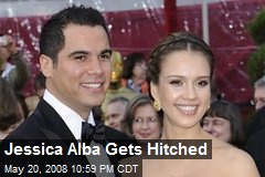 Jessica Alba Gets Hitched