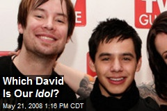 Which David Is Our Idol ?