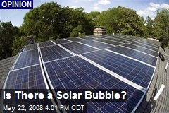 Is There a Solar Bubble?