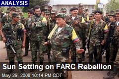 Sun Setting on FARC Rebellion