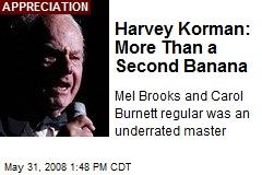 Harvey Korman: More Than a Second Banana