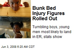 Bunk Bed Injury Figures Rolled Out