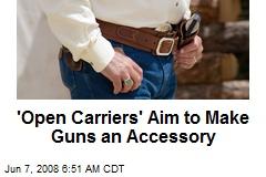 'Open Carriers' Aim to Make Guns an Accessory