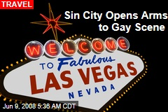 Sin City Opens Arms to Gay Scene