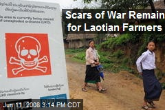 Scars of War Remain for Laotian Farmers