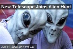 New Telescope Joins Alien Hunt