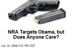 NRA Targets Obama, but Does Anyone Care?